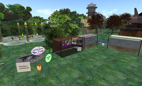 Elven Market, now largely closed, in ElvenMyst