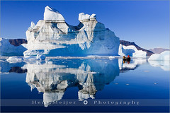 Icebergs - Røde Ø - Scoresby Sund - Greenland (~ Floydian ~ ) Tags: blue winter light people snow cold ice water canon reflections landscape boats lights reflecting boat view cruising east arctic greenland rodeo fjord iceberg zodiac viewpoint meijer fjords icebergs henk zodiacs ittoqqortoormiit scoresbysund floydian proframe proframephotography canoneos1dsmarkiii henkmeijer rødeø