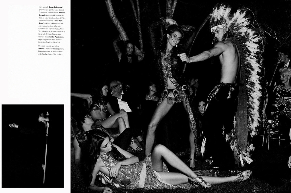 """Bacchanal"" W Magazine Oct 2002 by Fabien Baron"