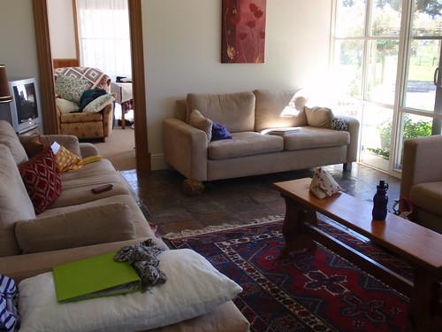 Sewjourn living room