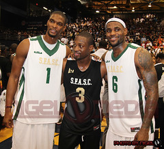 Chris Bosh, Dwyane Wade  & Lebron James (bg63s) Tags: nigeldevents