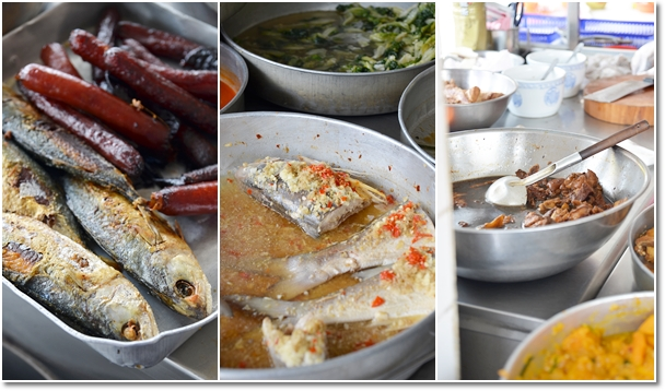 Steamed Teochew Fish, Vinegar Pork Trotters, Fried Fish