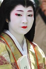 The day of festival !! (Teruhide Tomori) Tags: festival japan costume kyoto traditional parade geiko 京都 日本 heian jidaimatsuri 芸妓 平安 kamishichiken 時代祭 naokazu 尚可寿
