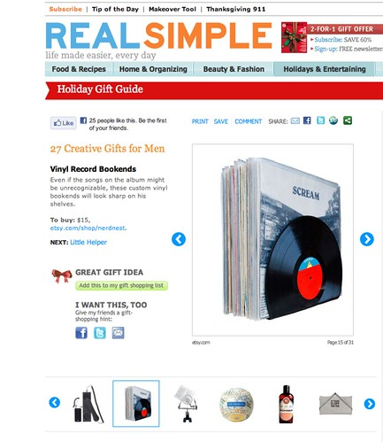 We're Featured in a Real Simple Gift Guide!