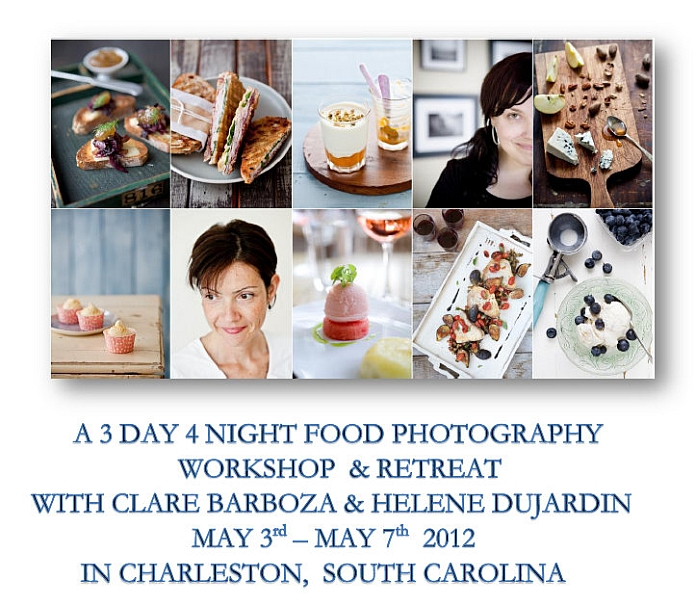 Food Photography Workshop in Charleston, South Carolina!