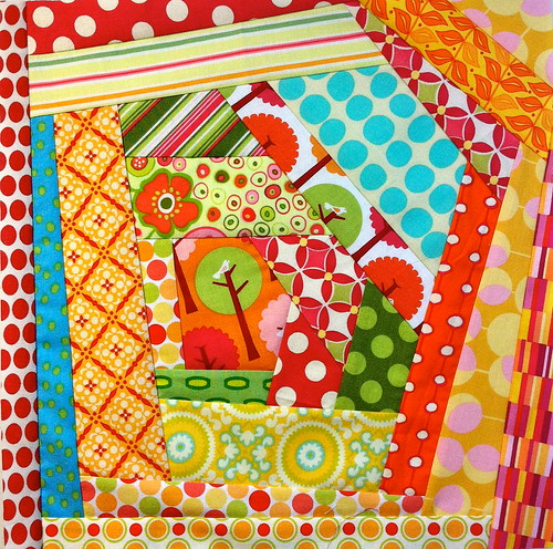 For Corey - A Quilting Journey Round Robin Bee by myfullcolorlife - Vickie