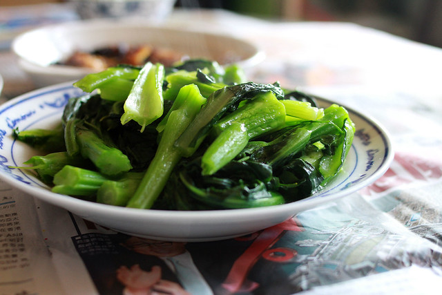 stir fried choy sum