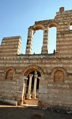 Anjar, Umayyad city, al-Walid I, 705-15, great palace (6) (Prof. Mortel) Tags: lebanon umayyad anjar