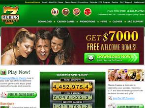 7Reels Casino Home