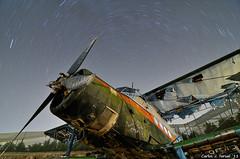 Antonov An-2 (Carlos J. Teruel) Tags: longexposure espaa nikon nightshot paisaje murcia nocturna nocturnas d300 2011 tokina1116 xaviersam
