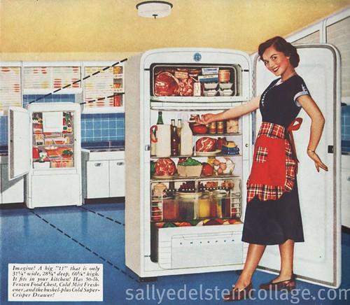RETRO A RAMA Kelvinator Refrigerator Ad 1950