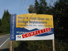 Lost Shoe No. 1 Bridge Replacement (TranBC) Tags: bc transportation infrastructure projects completed lowermainland tranbc southcoastregion ministryoftransportationandinfrastructurecompleted