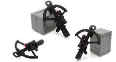 Tactical CrossBow ([N]atsty) Tags: red modern mod cross lego plastic bow figure ba minifig modification crossbow crates minifigure tlg brickarms