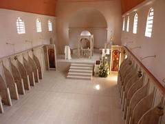 Monastère de l'Assunta Gloriosa :  intérieur de la chapelle du monastère