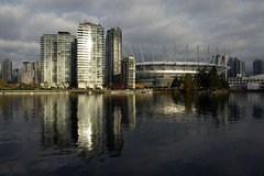 BC Place (DungTNguyen) Tags: canada vancouver britishcolumbia seawall falsecreek bcplace