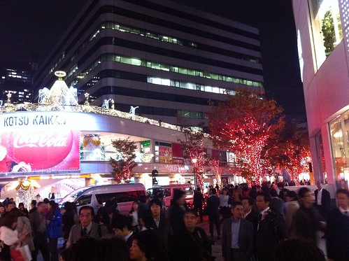 Winter illumination at Yurakucho