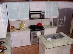 kitchen13 (Jwarlocke) Tags: kitchen miniatures furniture ooak barbie first rement fashiondoll kenmore playset dioramas my playscale myfirstkenmore