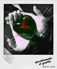 like an imprinting (*estella*) Tags: boy hands heart prince mani manos principito marco chico cuore corazon ragazzo principe succodifico