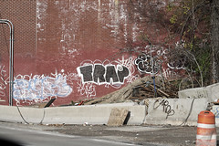 since x trap (Into Space!) Tags: road street city urban ny newyork graffiti photo highway tag since vandal if expressway graff trap bombing awol throw fillin throwie intospace intospaces