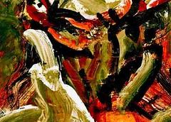 """la gringa, el sol naciente y una lagrima pal comandante""* nov. 2011 (THE ART OF STEFAN KRIKL) Tags: illustration painting abstractart modernart che cheguevara expressionistart"