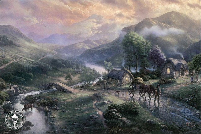 THOMAS KINKADE - Emerald Valley