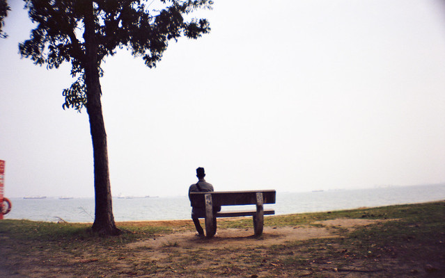 Lonely guy