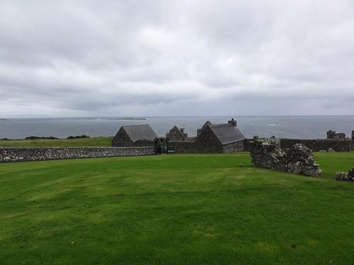 Dunluce Castle scene
