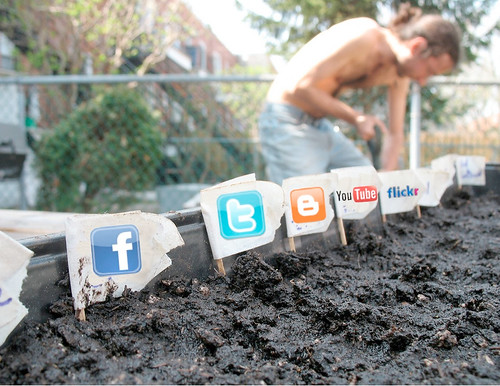 Social Media Garden by j&tplaman, on Flickr
