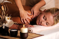 Massage of shuolder (ivisdompics) Tags: portrait woman girl beautiful beauty smile horizontal closeup female one back healthy hands pretty candle adult body young relaxing lifestyle rubber fresh professional clean indoors health massage attractive rest salon therapy care relaxation cosmetics shoulder spa pleasure expert wellness treatment caucasian beautician lyingdown masseur skincare bodycare closedeye pampering pamper