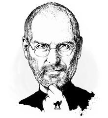 Steve Jobs var emot en surfplatta i mindre format
