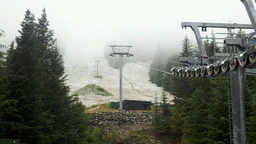 Crystal Mountain dusting Oct 6