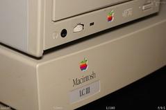 The Combo, LC III & 600e (Em's Foto) Tags: apple macintosh se mac jobs steve stevejobs lciii macintoshse applemacintosh system71 macintoshlciii applecd600e macos71