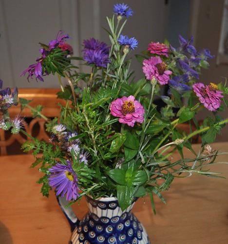 The last garden flowers