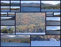 views along Lake George