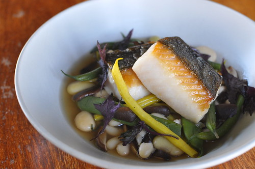 California Black Cod with Shiitake-Umeboshi Broth