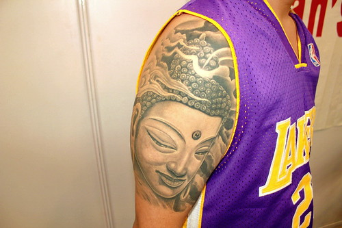 06bfe8c22699a tattoo india convention veer hegde piercing bangalore Eternal expression  best buddha tattoo 13