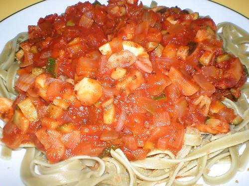 Mediterranean Noodles