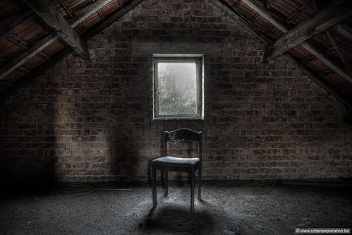 Vergeten stoel