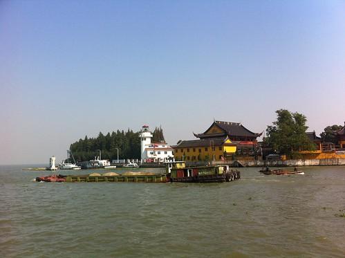 End of Mao river in Dianshan Lake