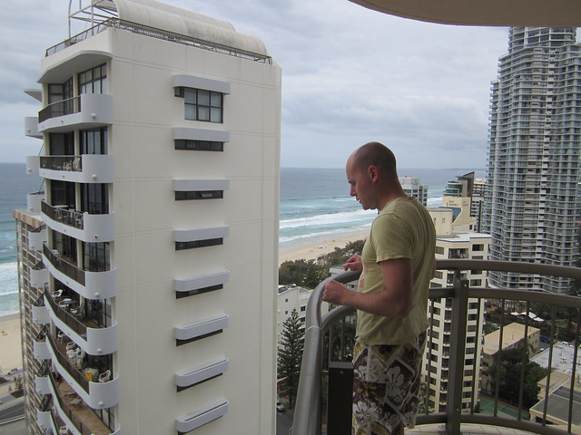 Adrian at Surfers Paradise