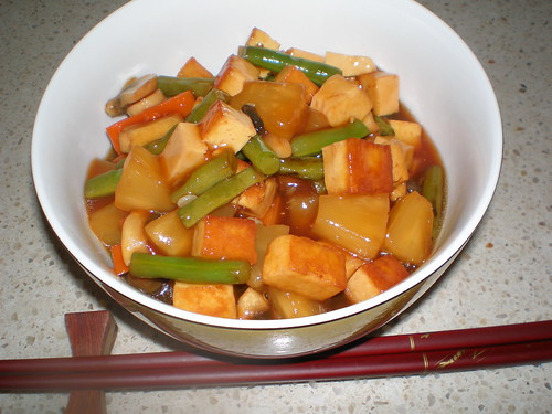 Sweet and Sout Tofu