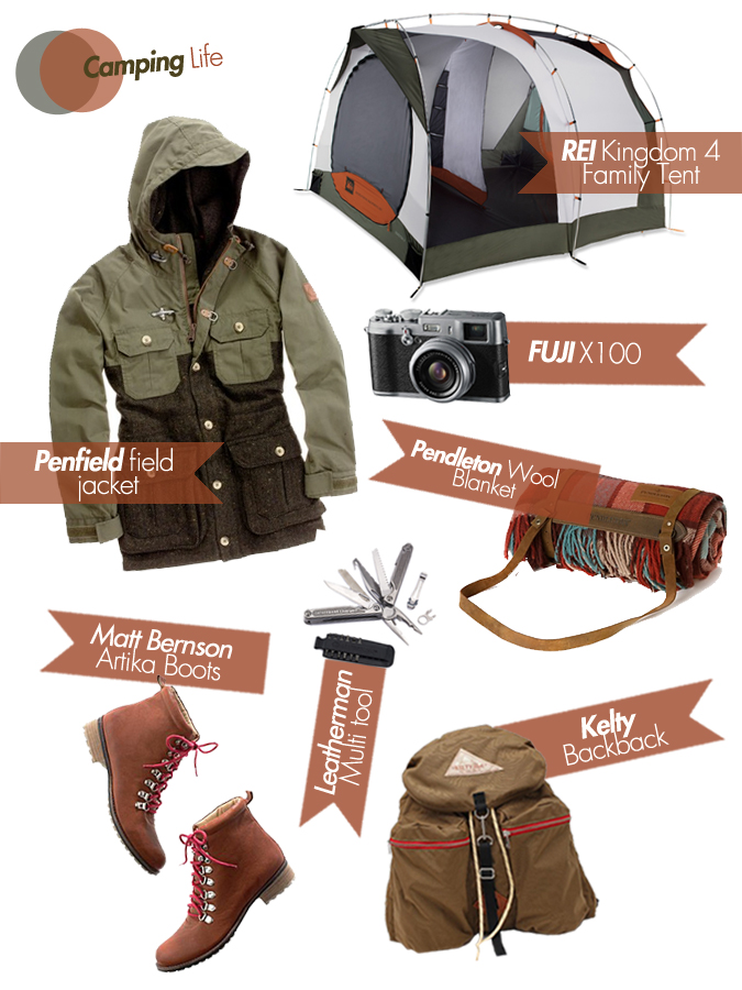 camping life: wish list