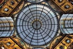 Milano, Galleria Vittorio Emanuele (forastico) Tags: milano cupola galleria d60 galleriavittorioemanuele forastico nikonflickraward luckyorgood