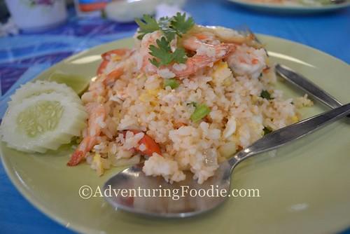 Thai Fried Rice with Shrimp