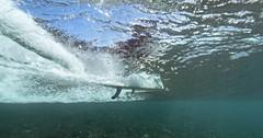 seen from below (bluewavechris) Tags: ocean sea water canon fun hawaii surf underwater action surfer board wave maui surfboard longboard thebay swell 1022 honoluabay seasea honolua t1i