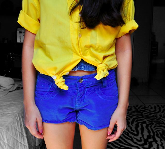 Azul e Amarelo