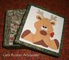 Caixa projeto de Natal (Carla Bouzan) Tags: natal papainoel rena tecido patchworkembutido