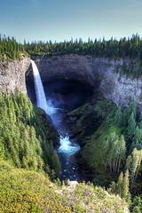 Helmcken falls Canada IMG_2279_80_81_tonemapped