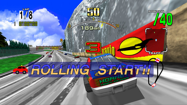 DAYTONA USA on PSN