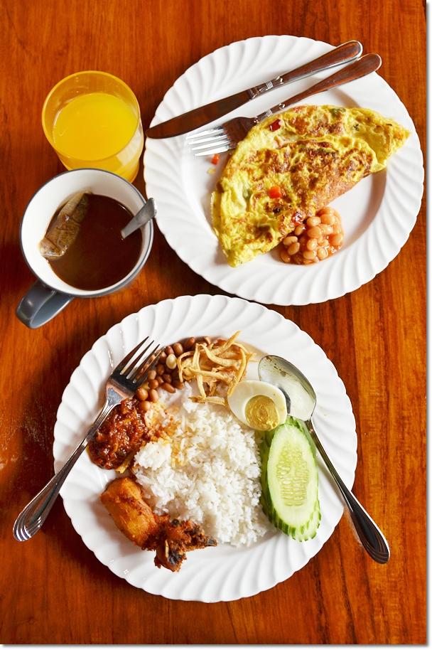 Breakfast @ Aman Rimba